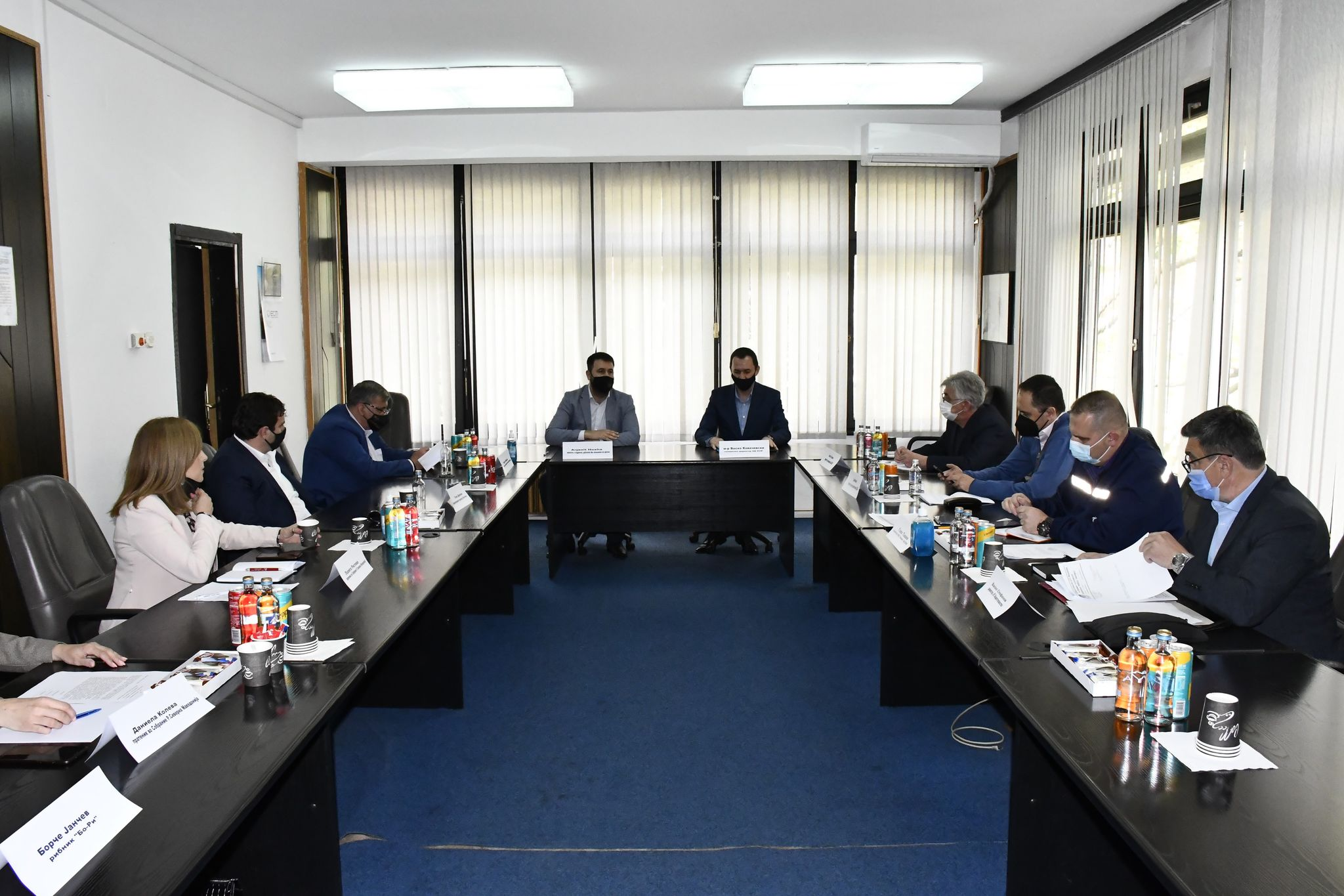 АД ЕСМ свика меѓуинституционален состанок во ХЕЦ Тиквеш за мерки за подобрување на нивото на акумулацијата