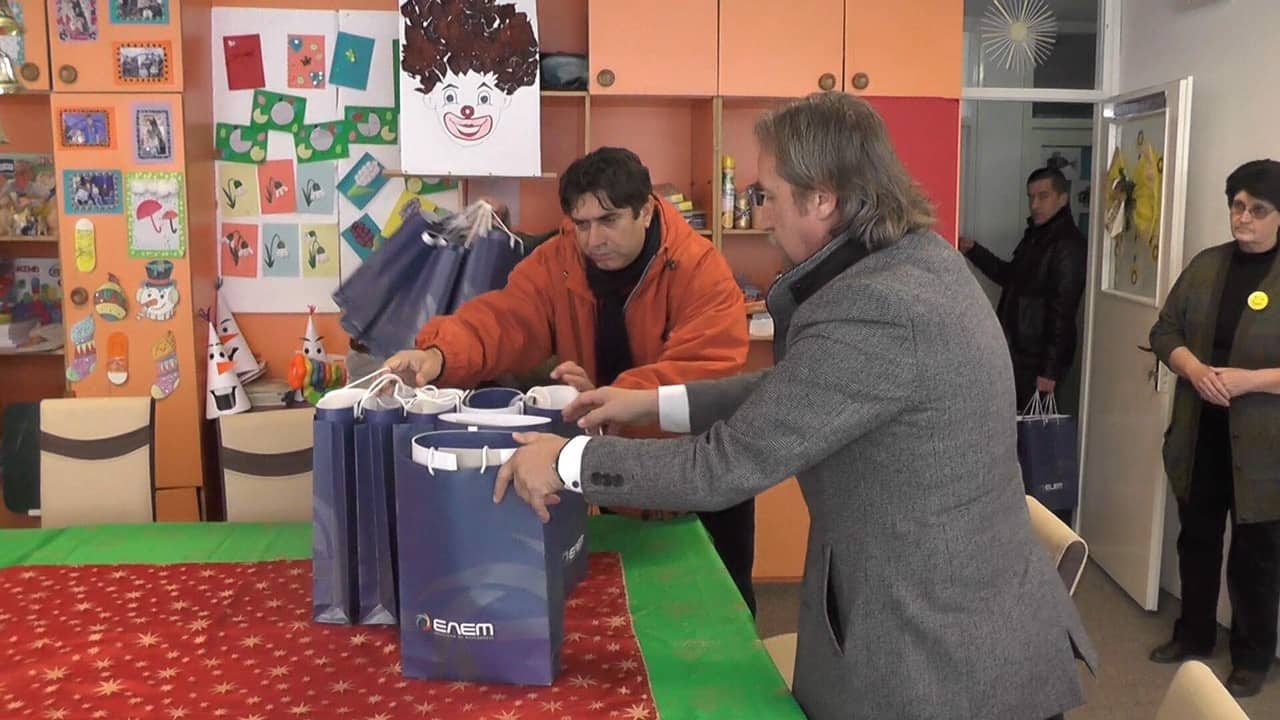 АД ЕЛЕМ со донација за Здружението на слепи и слабовидни лица од Кичево