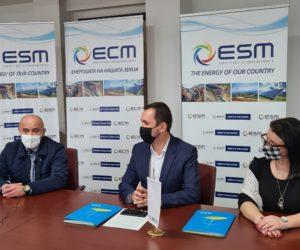 Три милиони денари, наместо за рекламен материјал, АД ЕСМ ги донира во модуларните болници во Битола и Кичево