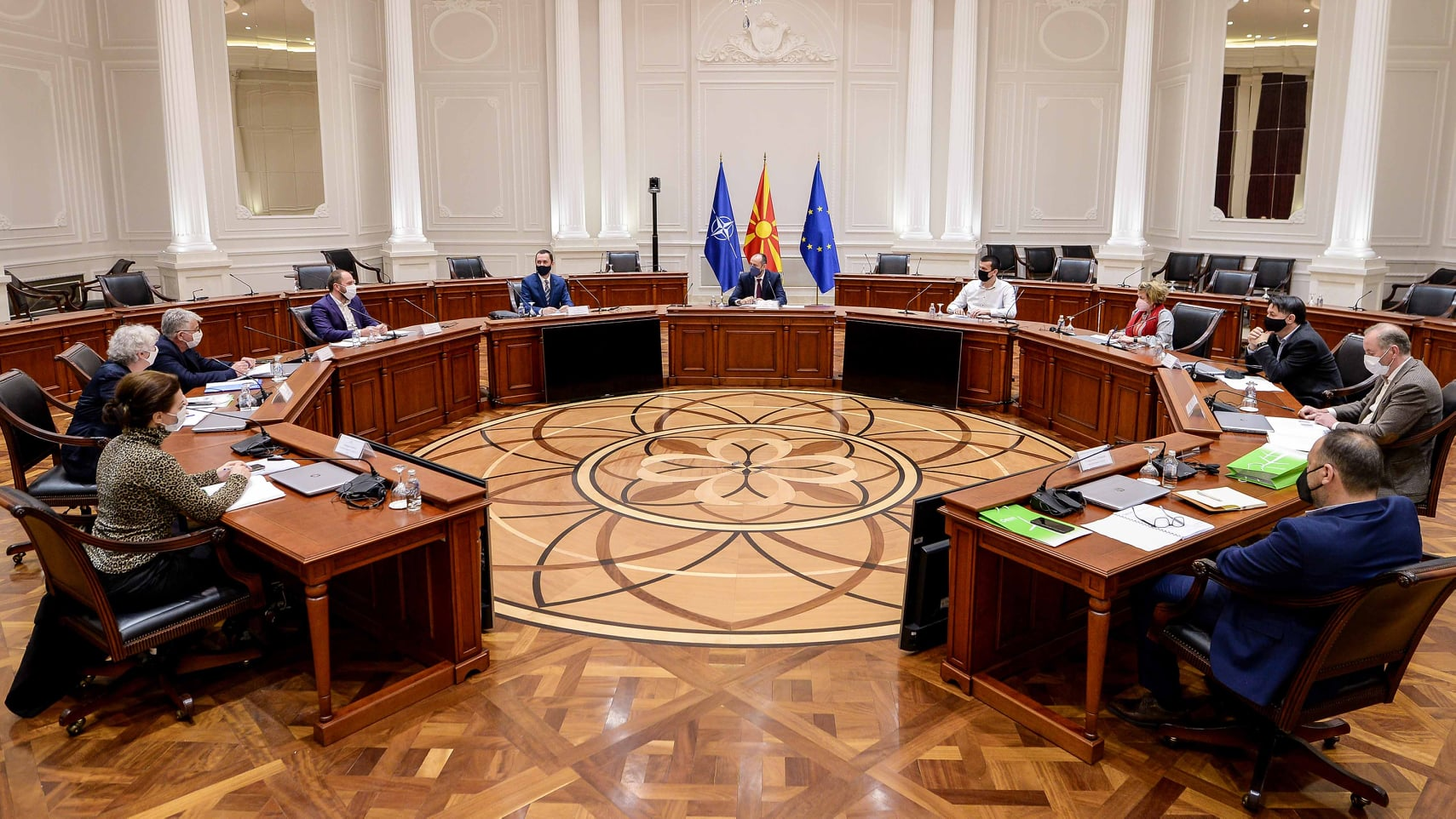 Работен состанок на Управниот одбор на АД ЕСМ со ЗПВРСМ Фатмир Битиќи
