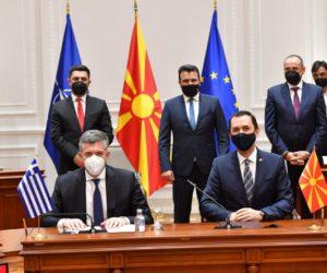 Премиерот Заев: Со потпишаните договори за инвестиции во Александруполи ја осигуруваме енергетската иднина